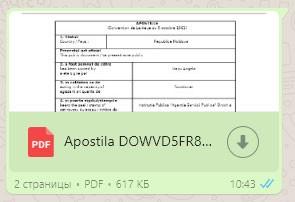 Получение Апостиля онлайн в Молдове